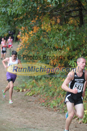 Boys Division 1 at 1 Mile & 1.5 Mile Marks - 2012 Portage Invite