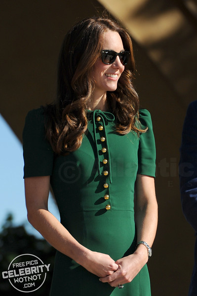 Kate Middleton Wears Ray-Ban Wayfarer Sunglasses With Prince William Also In Shades