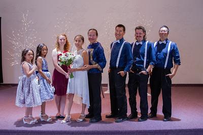 E & S Stevens Wedding