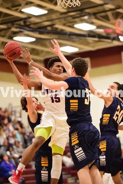 Boys Basketball: Rock Ridge vs. Loudoun County 2.10.2016 (by Al Shipman)