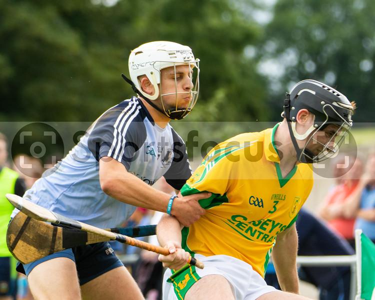 Nenagh Eire Og's C Hilmi and Toomevara's Kieran Flaherty