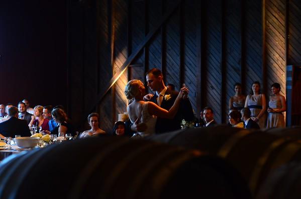 George and Alissa Vineyard Wedding