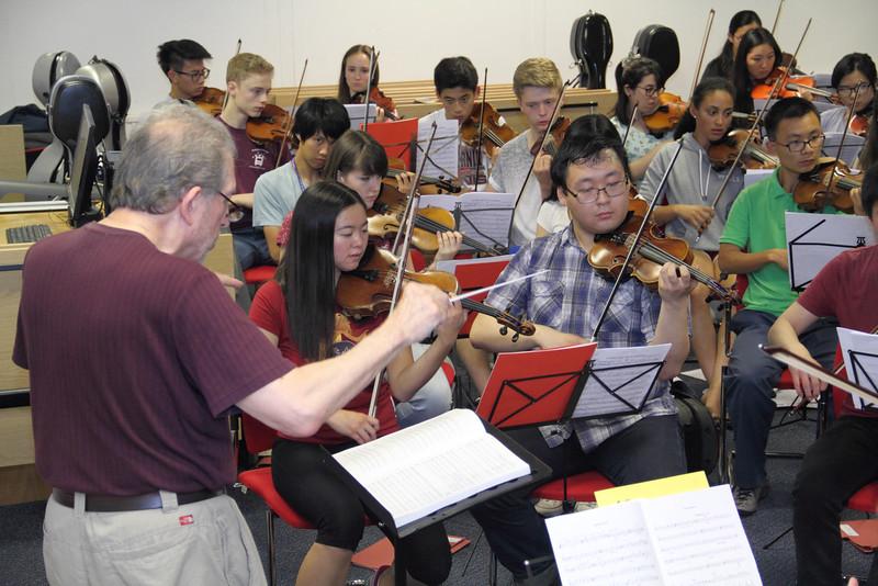 Rehearsal: Strings