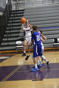 DMS Basketball JV team 2020