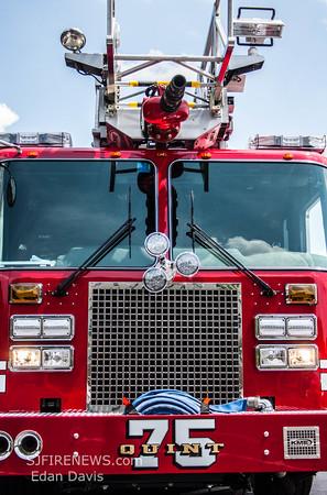 Runnemede Fire Co. (Camden County NJ) New Quint 75