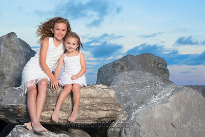 The Lloyd Family Sunset Photography on Panama City Beach