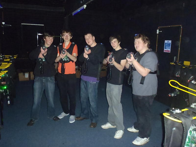 November - Lazer Quest