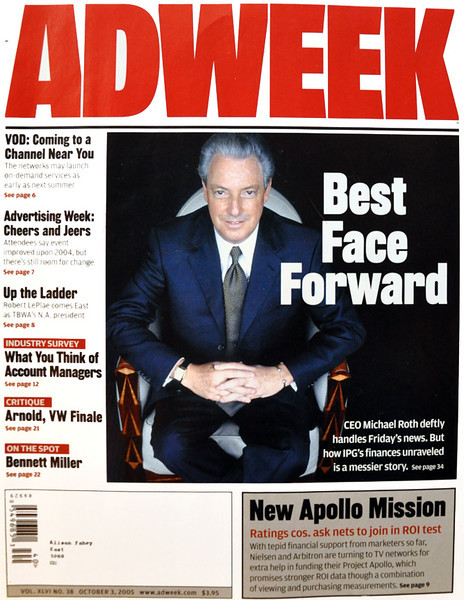Adweek Magazine. Photo by Melanie Dunea.