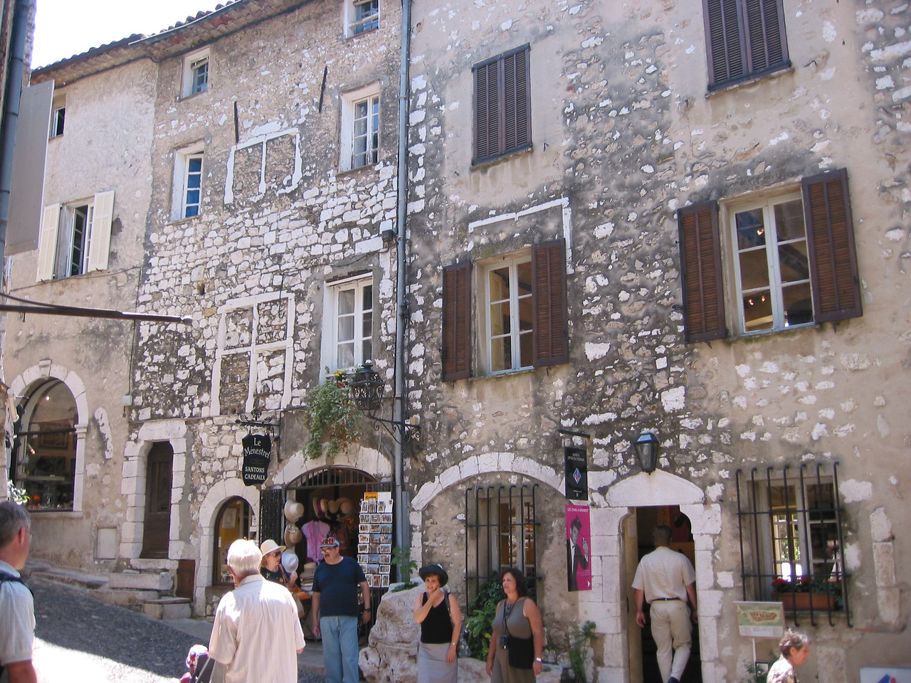 St Paul de Vence, a well-preserved medieval village