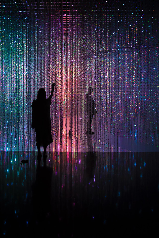 Singapore girl art science museum