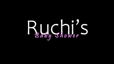 Ruchi's Baby Shower