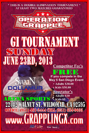 June 23 2013 Operation Grapple GI Tourney