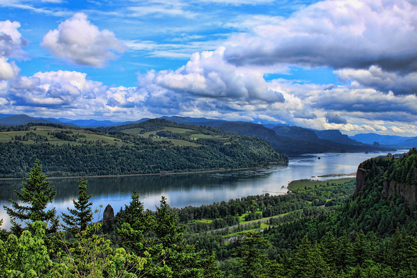 Columbia River Gorge Spring