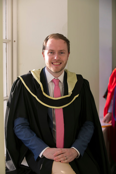 01/11/2018. Waterford Institute of Technology (WIT) Conferring Ceremonies 2018. Pictured is John Gillespie. Picture: Patrick Browne