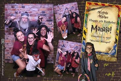 Manaia's 5th Birthday (Magic Mirror Photo Booth)