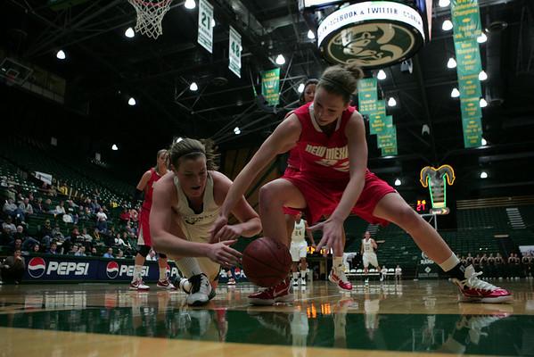 CSU vs. New Mexico Women's BB 2011
