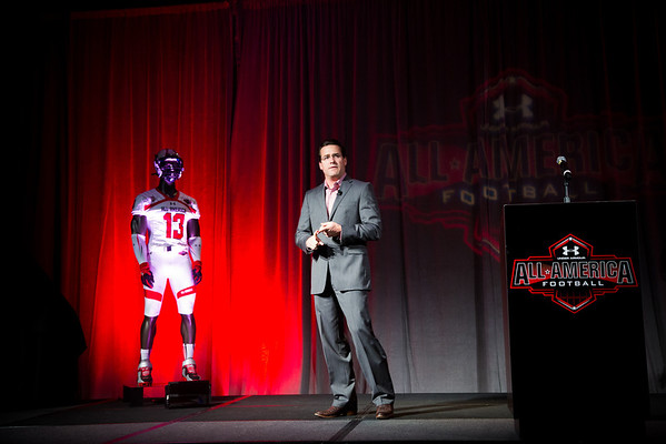 UNDER ARMOUR ALL AMERICA JERSEY CEREMONY