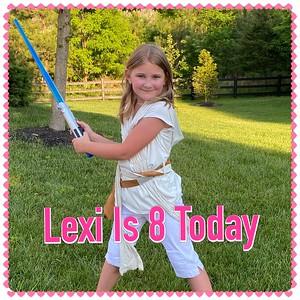 Alexis Turns Eight
