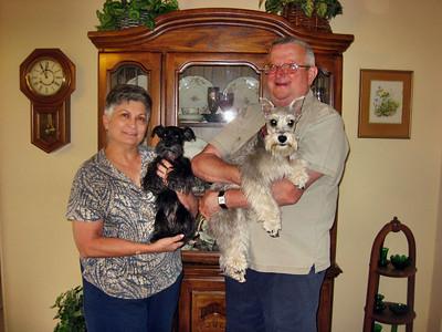 Visiting Gerry Fitzgerald in Lakehills, TX May 2009