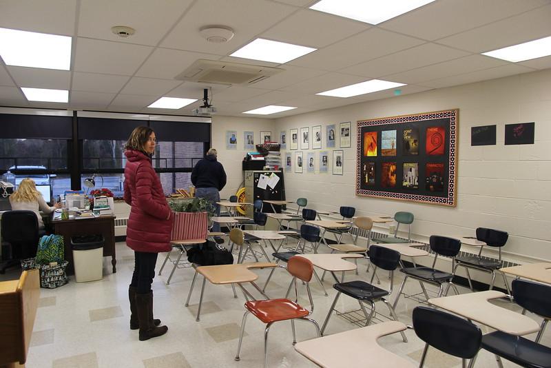 Caroline's classroom at St. Augustine