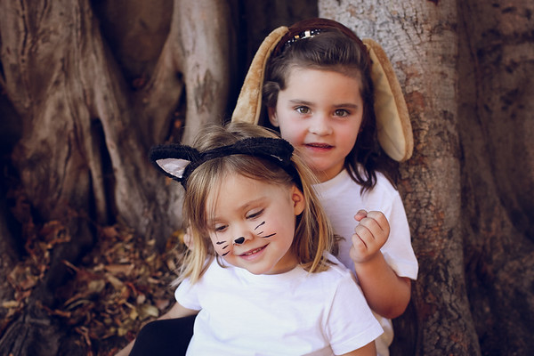 Lucy and Emme - Halloween 2018