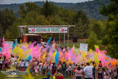 2017  Festival of Colors at The Palace of Gold WV