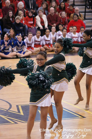 02-04-2012 Kennedy HS Division #3 Poms Championship at Richard Montgomery HS, Photos by Jeffrey Vogt Photography