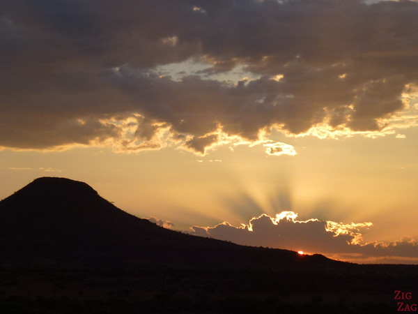 Sunset in Namibia 1