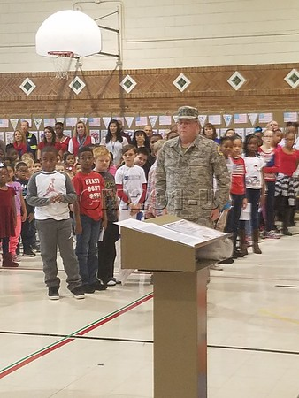 Veteran's Day Assembly 2017