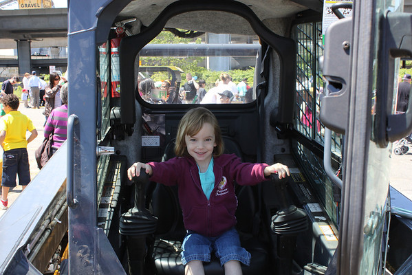 Touch a Truck, and a Visit!