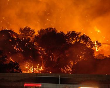 Sage Fire, Santa Clarita 2016