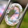 2.32ct Flat Oval Shape Diamond GIA J SI1 13