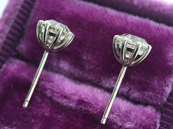 1.18ctw Old European Cut Diamond Earrings