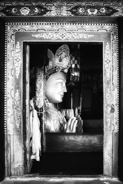 Maitreya Buddha, Thiksey Monastery