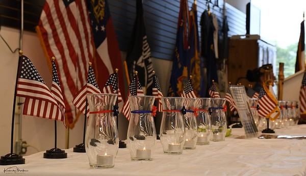 Habersham VFW ceremony & event photos (Sept 2021)
