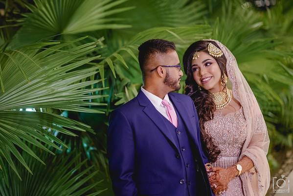 Mustabshara & Azim Reception