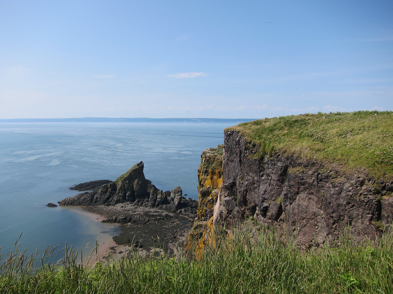 Cape Split on the Bay of Fundy