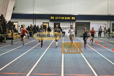 200M Girls - January 23 MITS Meet at UM