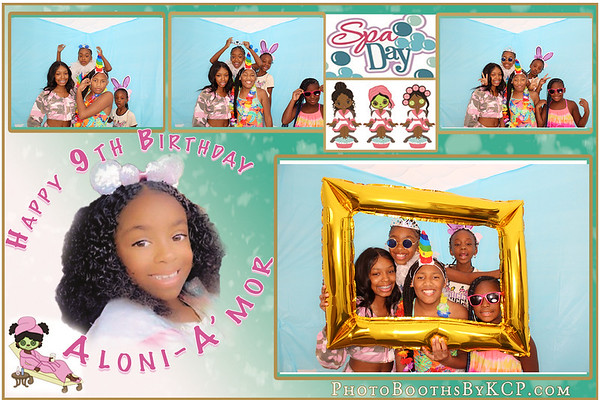 Aloni Amor's 9thBday Party