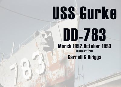 USS Gurke DD 783