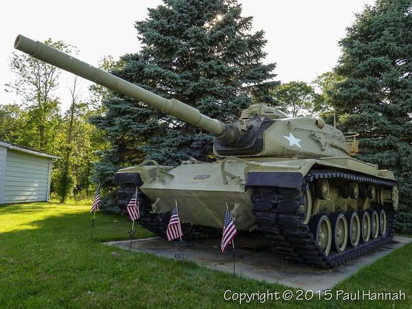 AL Post 483 - Allenton, WI - M60A3