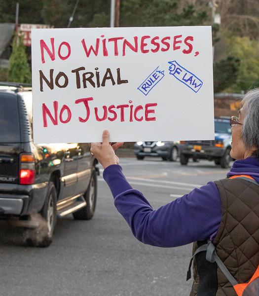 Anti-acquittal protest 2-5-20