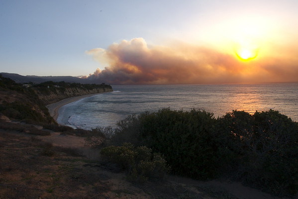 Malibu Fire 10-21-07