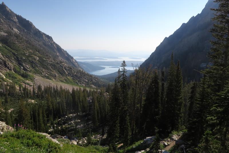 Leigh Lake and Jackson Lake