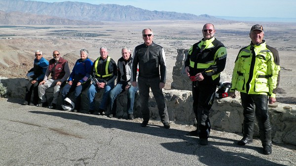 December 28 Borrego ride