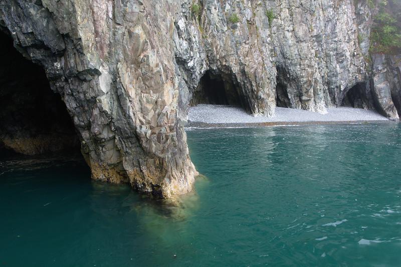 Caves on the coast
