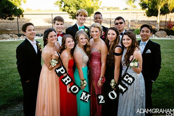 Lodi High Prom 2015