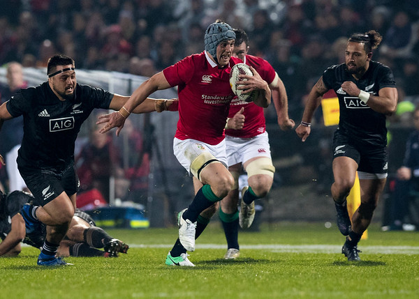 Jonathan Davies during game 5 of the British and Irish Lions 2017 Tour of New Zealand,The match between  The Maori All Blacks and British and Irish Lions, Rotorua International Stadium, Rotorua, Saturday 17th June 2017 (Photo by Kevin Booth Steve Haag Sports)  Images for social media must have consent from Steve Haag