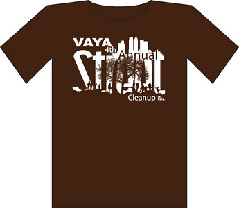 Street Clean-up 2007 t-shirt