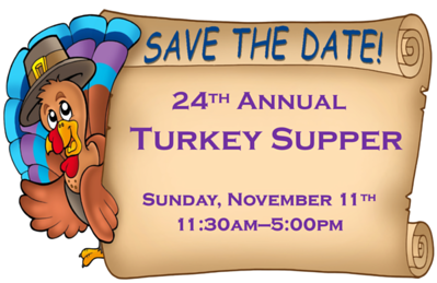 24th Annual Turkey Supper